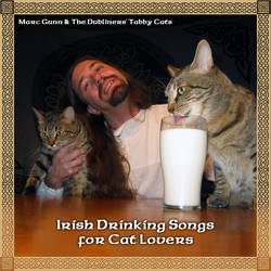Irish Drinking Songs Cat Lover by thebardsdotnet