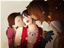DA: Family Time by Jadeookami