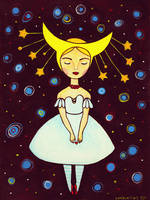 Moon fairy by Apolinarias