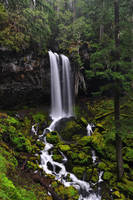 Grotto Falls by greglief