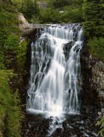 Heather Meadows Falls by greglief