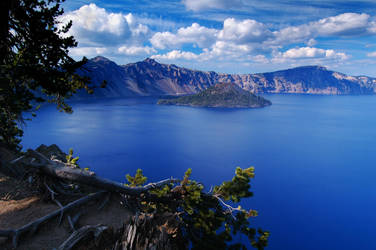 Crater Lake - Study 2006-1 by greglief