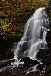 Fairy Falls, Autumn Study 2016 by greglief