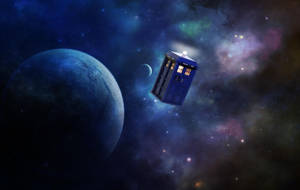 TARDIS by willowsongstudios