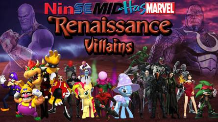 NinSeMidHasMarvel Renaissance Era Villains by ErichGrooms3