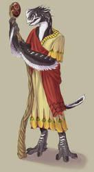 Akkixi priest by calciumfish