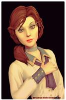 Elizabeth*Bioshock Infinite* by Soraya-Mendez