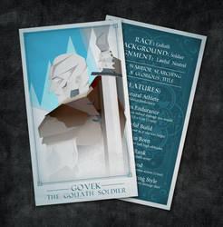 Goliath DND Tarot by TheCuraga