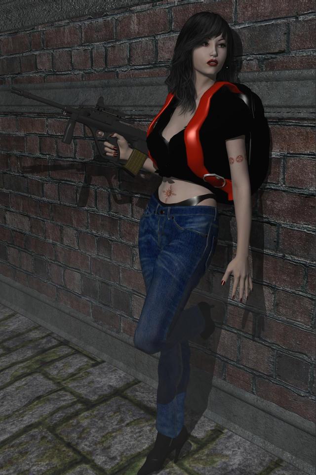 Women: Dana McAllen by Requiemwebcomic
