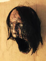 scream wall decoration by UglyBabyEater