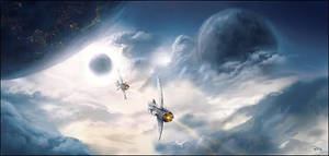 Dawn of New Worlds II by ReneAigner