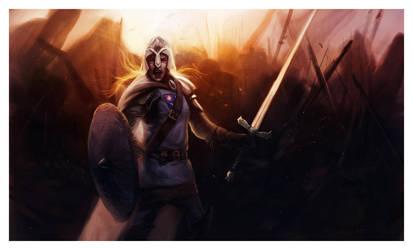 Brienne of Tarth by ReneAigner
