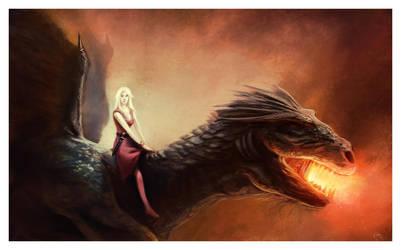 Dragonrider by ReneAigner