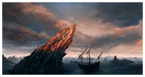 The Narrow Sea by ReneAigner