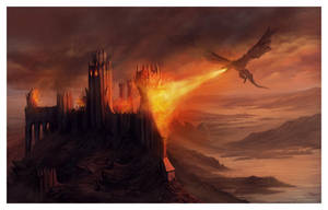 The Fall of Harrenhal by ReneAigner