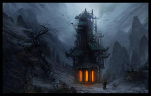 The Secret Tower (II) by ReneAigner