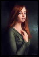 Female Portrait by ReneAigner