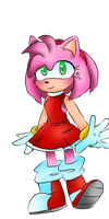 Amy Rose by NicoleDoodlesjunk