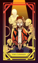Tarot Card: The Conman by HIROmanga