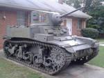 M3 Stuart 3/4 angle by Extraintelligence