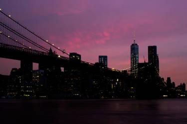 Manhattan by lightisthelimit