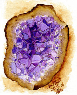 Amethyste Geode by Romaeangel
