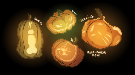 Pumpkin Sleepover - results by BEAR-POW3R