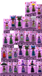 Chief Zoe Outfits Back View by Kirbyfan1234