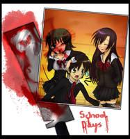 School Days: Version 2 by Shellahx