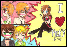 I HEART POCKY by Shellahx