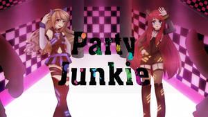 Party Junkie - Ketsuban + Shellah by Shellahx