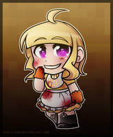Five Nights at Freddy's - Chica (Human Chibi Form) by Shellahx