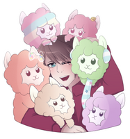 The Alpaca Family by Shellahx