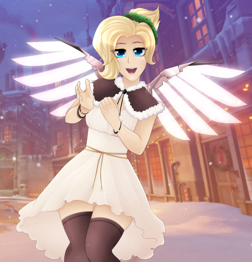 Mercy's Christmas by Shellahx