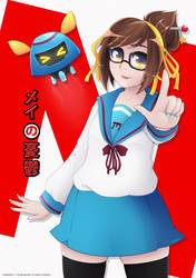 Mei Suzumiya by Shellahx