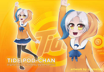 The Laundry Life of Tide Pod-chan!: Tidepod-chan by Shellahx