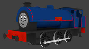 Wilbert the forest engine (IRWS styled face) by Sirfowler1