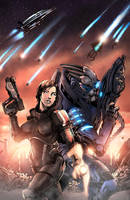 Mass Effect by JackLavy