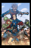Guardians of the Galaxy by JackLavy
