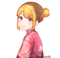 Yukata Girl by kyoshuko20
