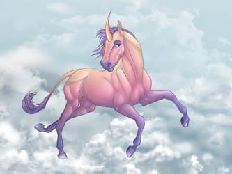 Unicorn by DoireannFriz