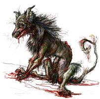 Demon by CorvidaeArt