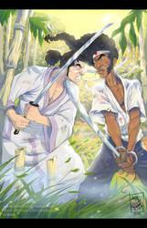 battle of the samurais by artnerdx