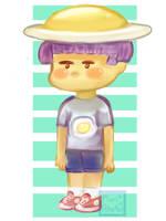 [OC] Egg...boy? by maricookie
