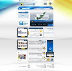 Thiqah New Portal by atcreation