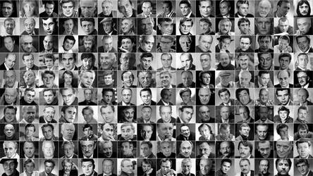 Great actors of the USSR by Prokopos