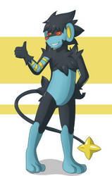 Luxray Suit Page 3 by DSAPROX