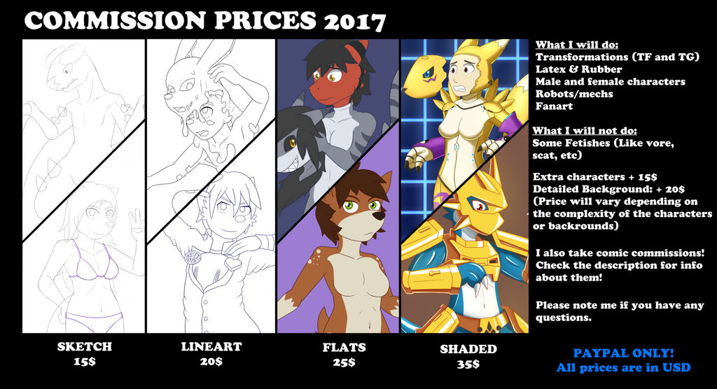 Commission prices 2017 by DSAPROX