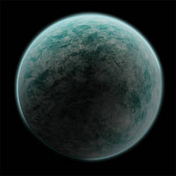 Textured Planet by the14thgod