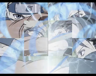 Naruto vs Sasuke by the14thgod